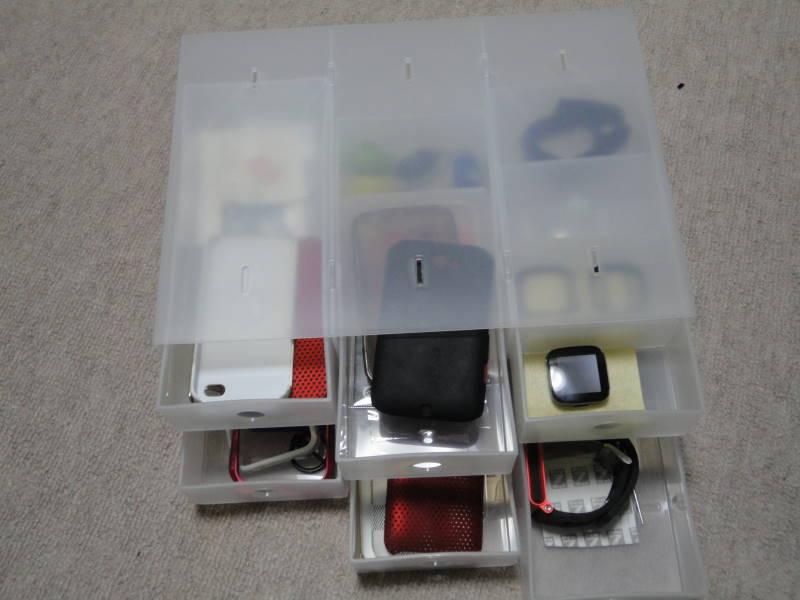 ポリプロピレン小物収納ボックス6段 無印良品 2000円. DSC02348.